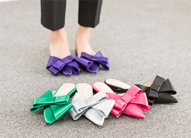 "satin ribbon mule (5color) ""225-250"""