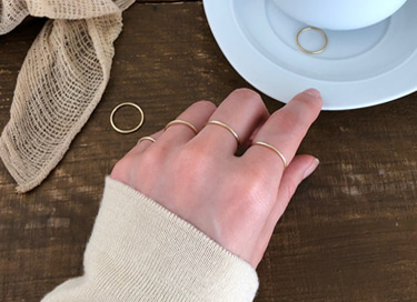 14k gold layed ring (1호 - 30호)