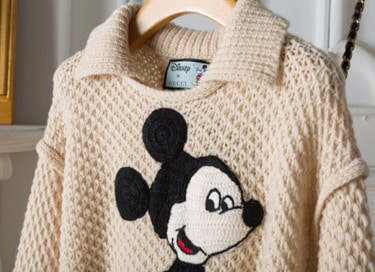 mickey wool knit